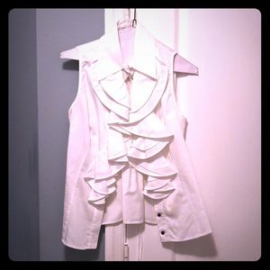 White sexy blouse